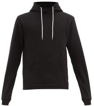 John Elliott Beach Cotton Hooded Sweatshirt - Black