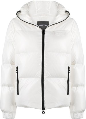 Duvetica Hooded Down Puffer Jacket