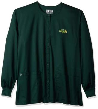 Dakota Wonderwink WONDERWINK Unisex-Adult's North State University Snap Front Jacket