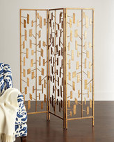 Haute House Freeney Golden Floor Screen