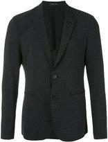 Emporio Armani two button blazer - men - Silk/Cotton/Spandex/Elastane/Virgin Wool - 48