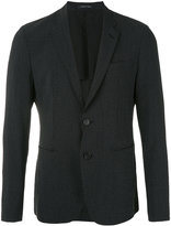 Emporio Armani two button blazer - men - Silk/Cotton/Spandex/Elastane/Virgin Wool - 50