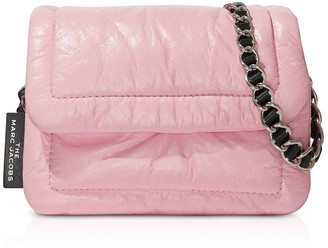 Marc Jacobs The Mini Pillow Powder Pink Leather Crossbody Bag
