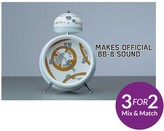 Star Wars BB8 Alarm Clock With Official Sounds