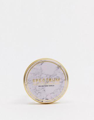 Spectrum Marble Sea Salt and Vanilla Vegan Brush Soap