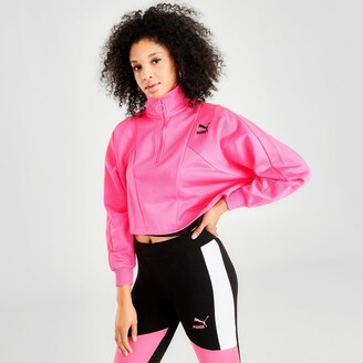 Puma Women's Tailored for Sport Cropped Half-Zip Jacket