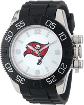 Game Time Men's NFL-BEA-TB Beast Tampa Bay Buccaneers Round Analog Watch