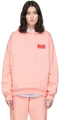 Martine Rose Pink Classic Hoodie