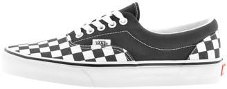 Vans Era Checkerboard Trainers Navy