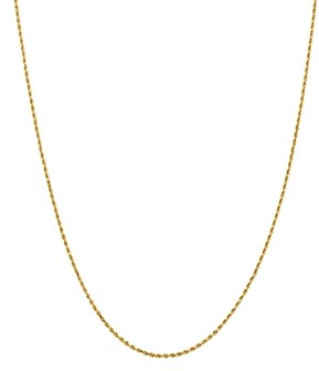 Bloomingdale's 14K Yellow Gold Diamond-Cut Rope Chain Necklace, 20 - 100% Exclusive
