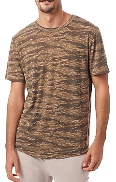 Alternative Eco Camo Shirttail Tee