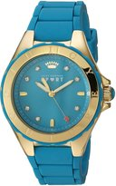Juicy Couture Women's 1901414 Rio Analog Display Japanese Quartz Green Watch