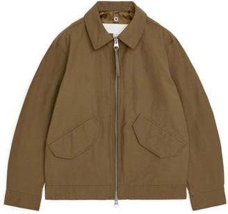 Arket Water-Repellent Harrington Jacket
