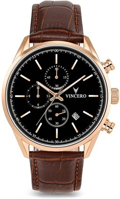 Vincero Watches The Chrono S - Rose Gold 40mm