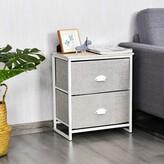 Schatz 2 Drawer Nightstand Ebern Designs Color: Gray