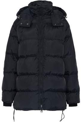 Walter Baker Monica Belted Quilted Shell Hooded Coat