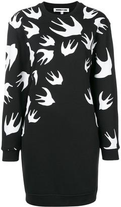 McQ sparrow knit jumper dress