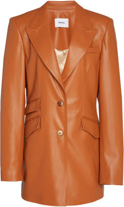 Nanushka Cancun Oversized Vegan Leather Blazer