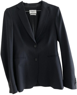 Filippa K Navy Wool Jacket for Women