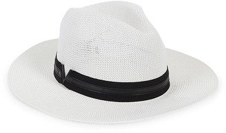 Vince Camuto Grosgrain Ribbon Fedora