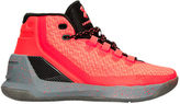 Under Armour Boys' Grade School Curry 3 Basketball Shoes