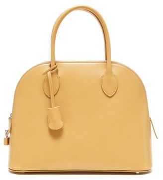 The Row Lady Bag Leather Handbag - Womens - Light Yellow