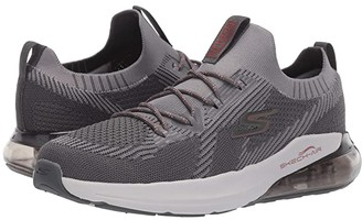 Skechers Go Run Air (Charcoal/Red) Men's Shoes