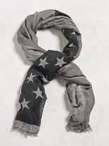 John Varvatos Antique Stars And Stripes Scarf