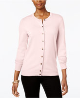 Karen Scott Petite Cardigan, Only at Macy's