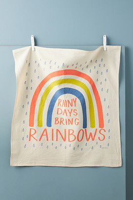 Calhoun & Co. Rainbow Dish Towel By Calhoun & Co. in White Size DISHTOWEL