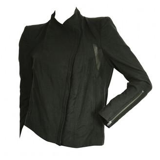 Helmut Lang Black Cotton Jackets