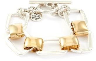 Philippe Audibert 'Hamon' rectangle cutout interlocking bracelet