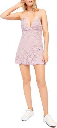 Free People Dangerous Love Lace Minidress