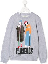 Fendi printed sweatshirt