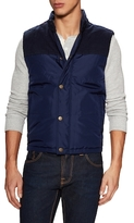 Brooks Brothers Quilted Stand Collar Vest