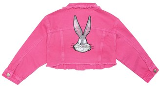 MonnaLisa Cropped denim jacket