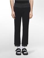 Calvin Klein Platinum Fashion Fit Matte Nylon Mesh Underlay Pants
