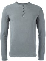 Majestic Filatures henley T-shirt