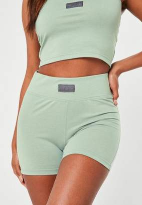 Missguided Mint Msgd Micro Shorts
