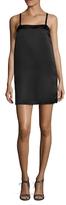 Lucca Couture Squareneck Shoulder Strap Shift Dress