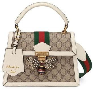 Gucci Queen Margaret small GG top handle bag