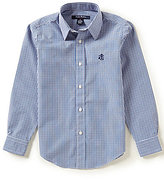 Brooks Brothers Little/Big Boys 4-20 Non-Iron Mini Check Sportshirt