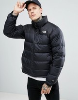 The North Face Nuptse2 Down Jacket In Black