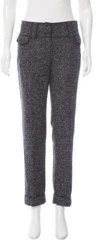 Dolce & Gabbana Alpaca-Blend Mid-Rise Pants w/ Tags