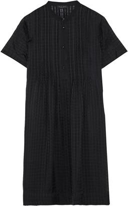 Rag & Bone Marcela Pintucked Silk-chiffon Jacquard Mini Dress