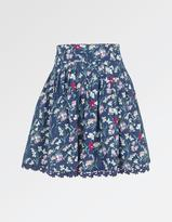Fat Face Floral Print Skirt