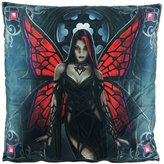 Things2Die4 Anne Stokes Aracnafaria Decorative Throw Pillow 16in.X16in.