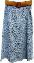 Dixie Blue Lace Skirt