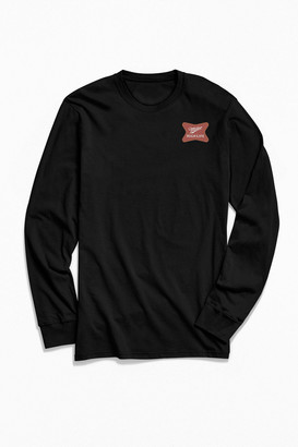 Urban Outfitters Miller High Life Logo Long Sleeve Tee