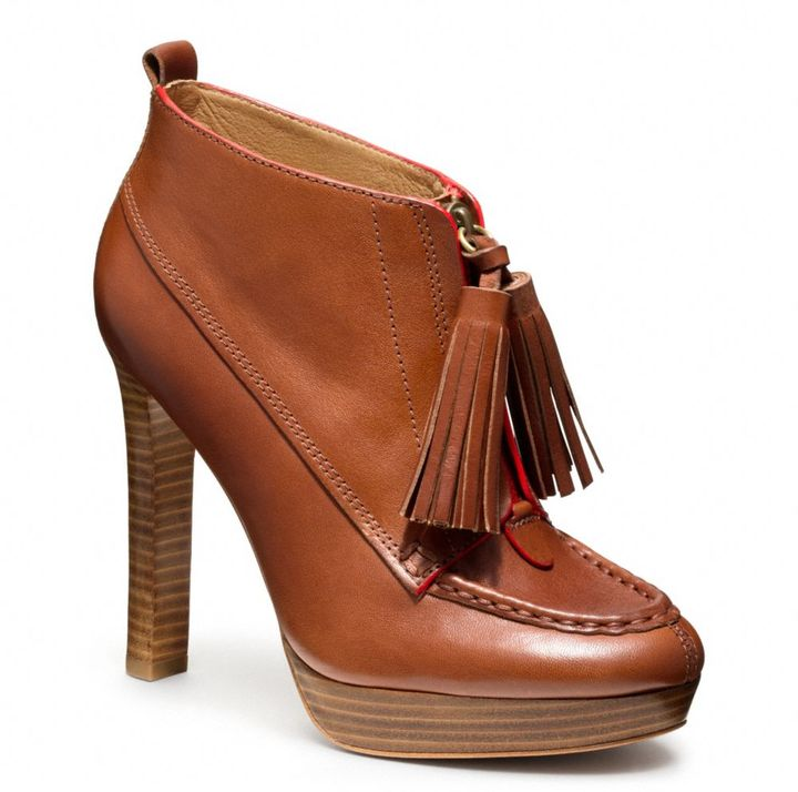 Coach Cary Bootie
